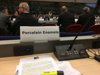 AUDIZIONE COMMISSIONE EUROPEA SUI MOCA SMALTATI